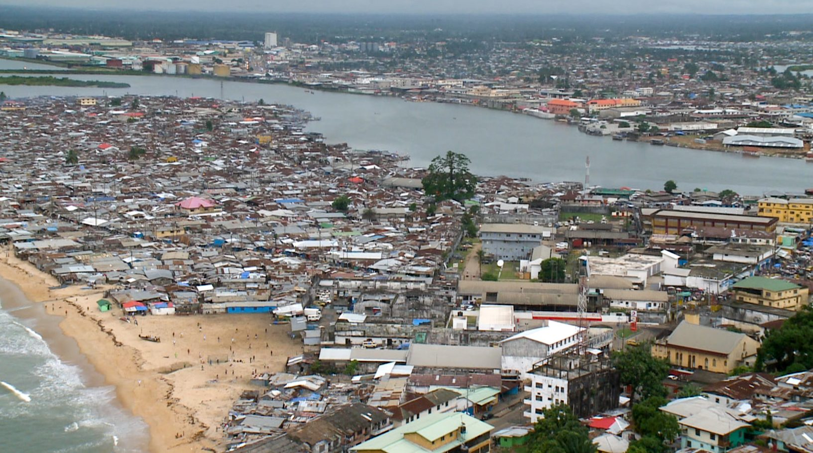 West Point slum, Monrovia